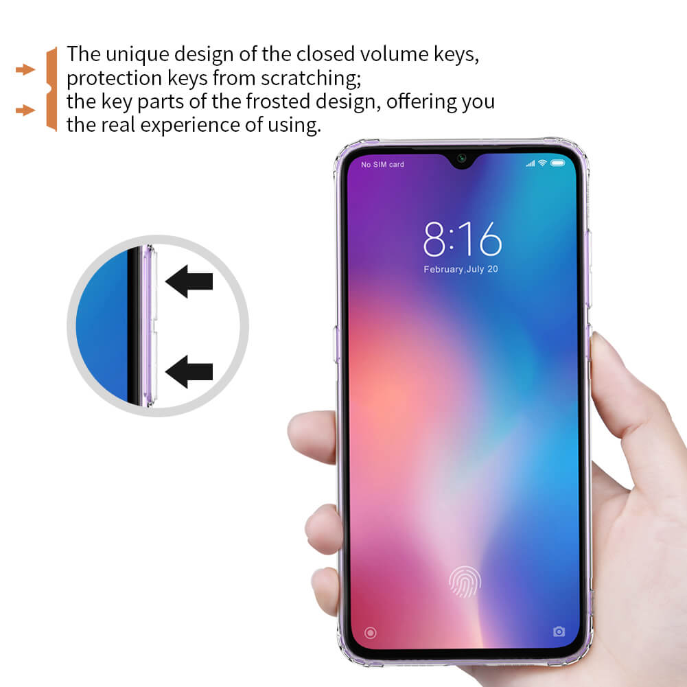 Nillkin Nature Series TPU case for Xiaomi Mi9 (Mi 9), Mi9 Explorer