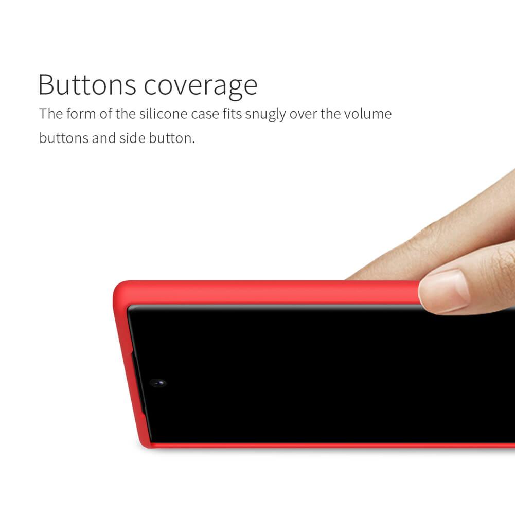 Nillkin Flex PURE cover case for Samsung Galaxy Note 10 Plus, Samsung Galaxy Note 10 Plus 5G (Note 10+)