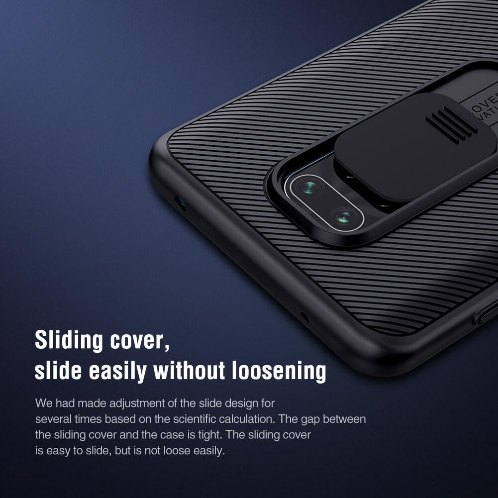 Nillkin CamShield cover case for Xiaomi Redmi Note 9 Pro, Note 9 Pro Max, Note 9S