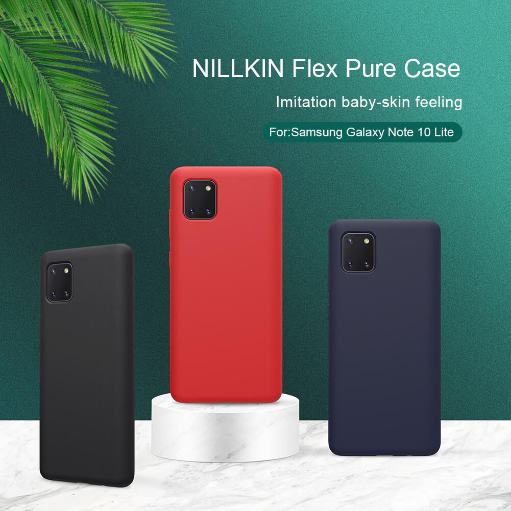 Nillkin Flex PURE cover case for Samsung Galaxy Note 10 Lite