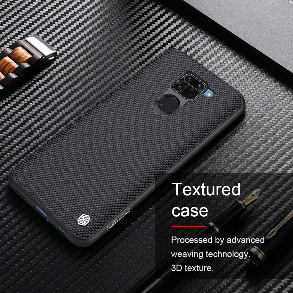 Nillkin Textured nylon fiber case for Xiaomi Redmi Note 9, Redmi 10X 4G