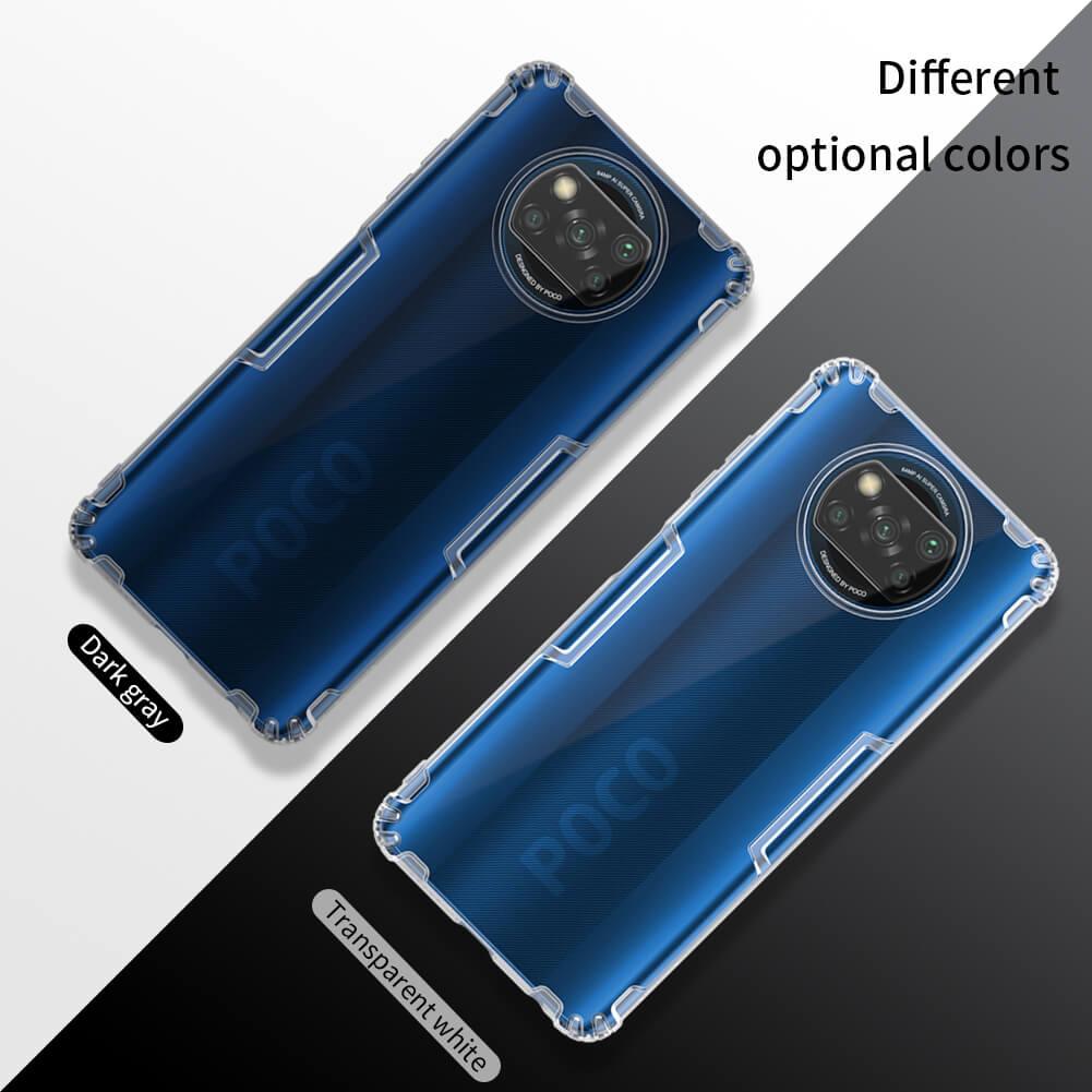 Nillkin Nature Series TPU case for Xiaomi Pocophone X3 NFC (Poco X3 NFC)