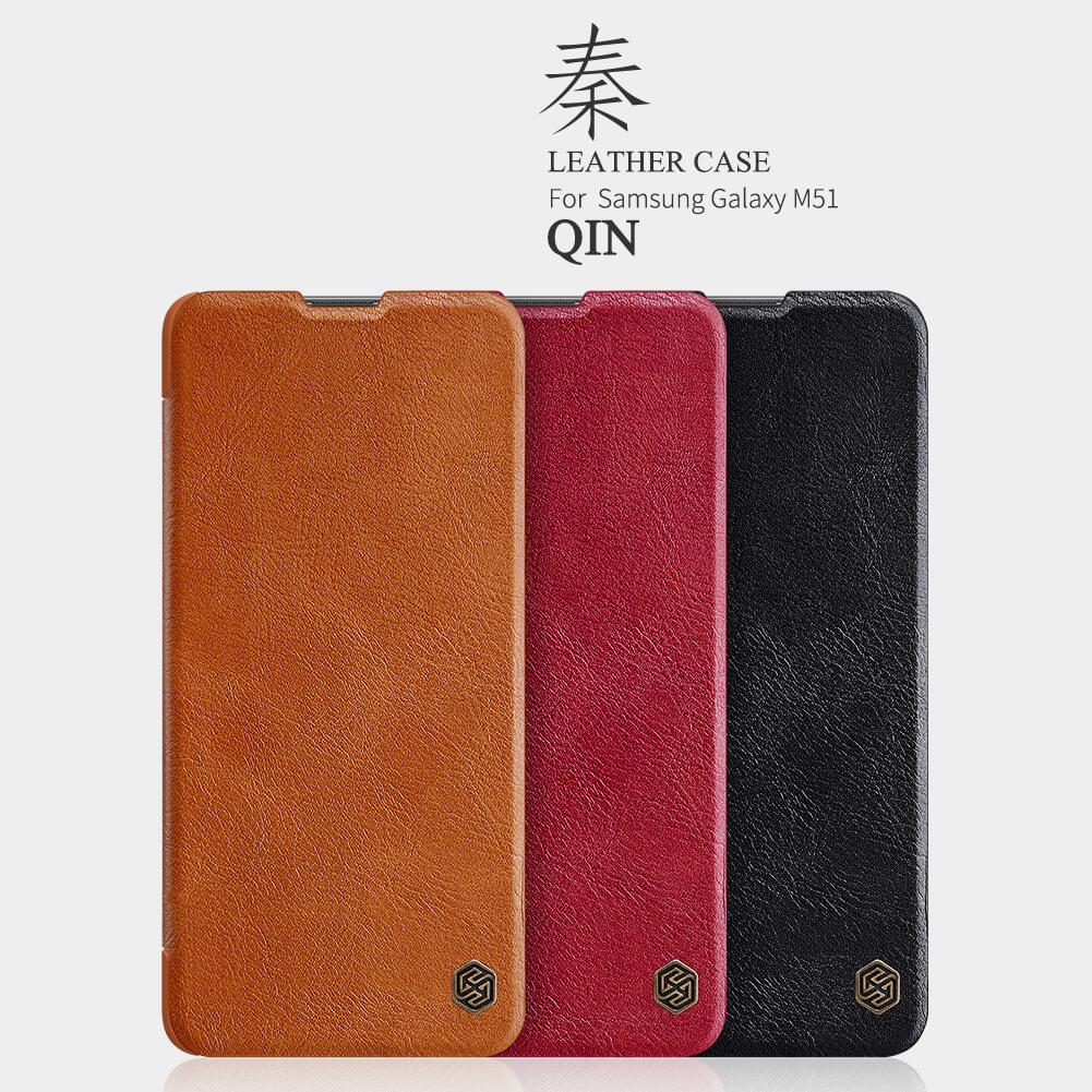 Nillkin Qin Series Leather case for Samsung Galaxy M51
