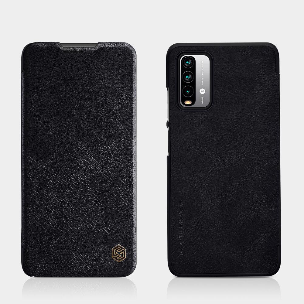Nillkin Qin Series Leather case for Xiaomi Redmi Note 9 4G (China), Redmi 9 Power, Redmi 9T