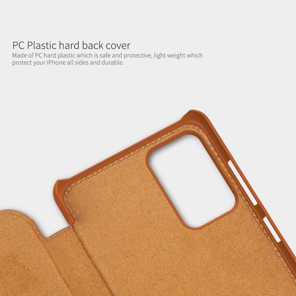 Nillkin Qin Series Leather case for Samsung Galaxy A72 4G, A72 5G